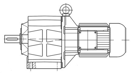 Industrijska oprema-pogonska tehnika-BAUER-reduktor-gonilo-dvižni sistemi-TALER ING-elektromotorna izvedba