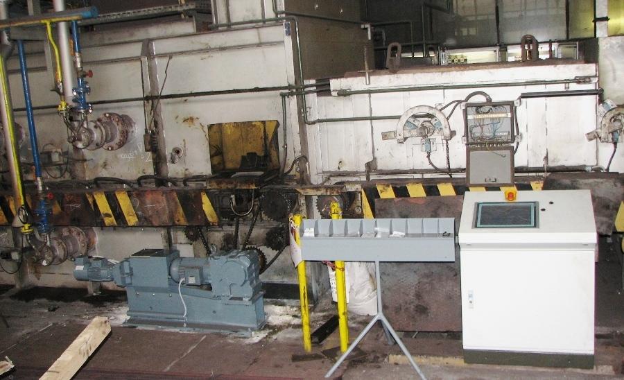 Pogonska tehnika-BAUER-Industrijska oprema-reduktorji-gonila-Rekonstrukcija pogona žarilne peči-Pogonski sklop Štore Steel