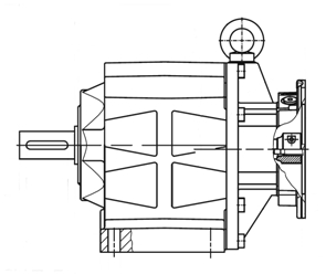 Industrijska oprema-pogonska tehnika-BAUER-reduktor-gonilo-dvižni sistemi-TALER ING-IEC izvedba